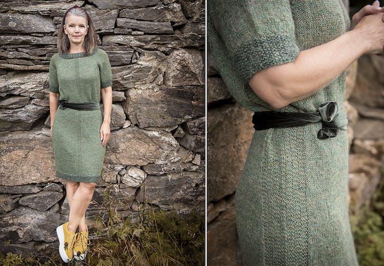 f5c458e0 Strikkekjole | Strikkeoppskrift på Tara-kjolen | Tara.no