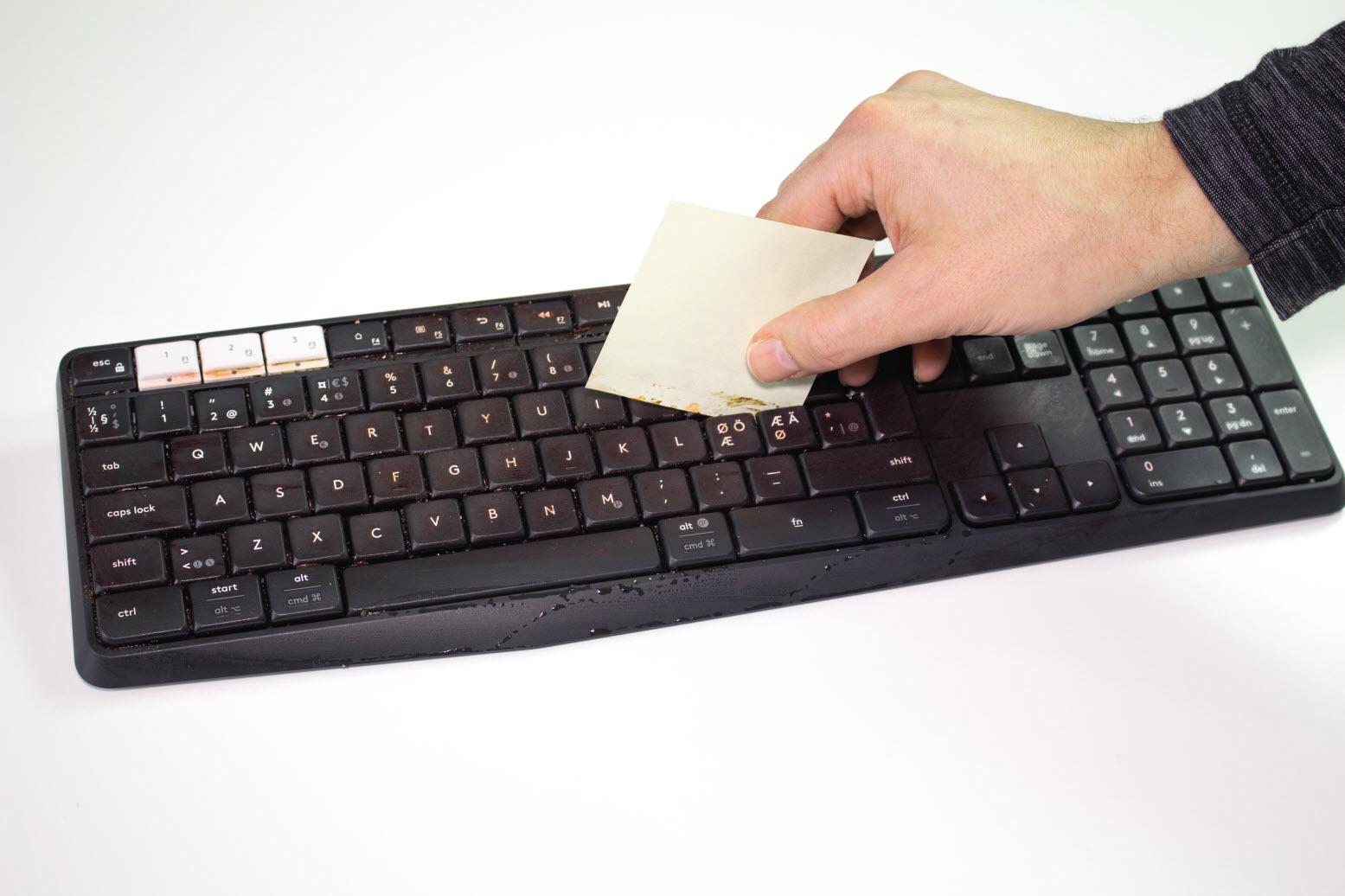 Nya tangentbord for handdatorer