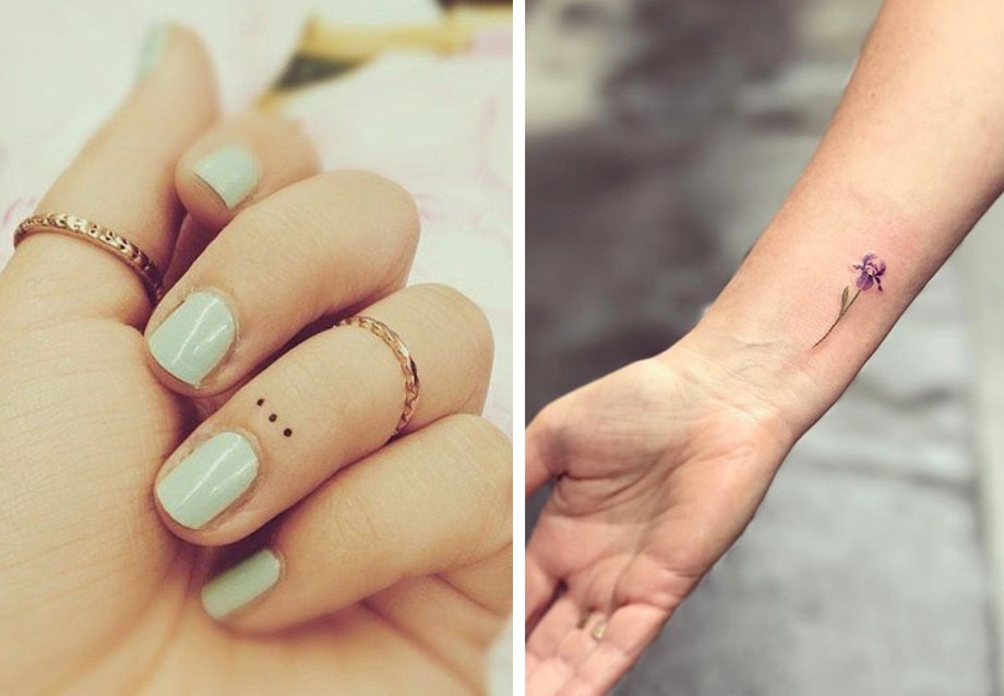 små søde tatoveringer