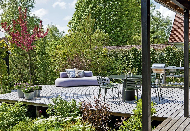 Lille have med god plads for Terrasse english