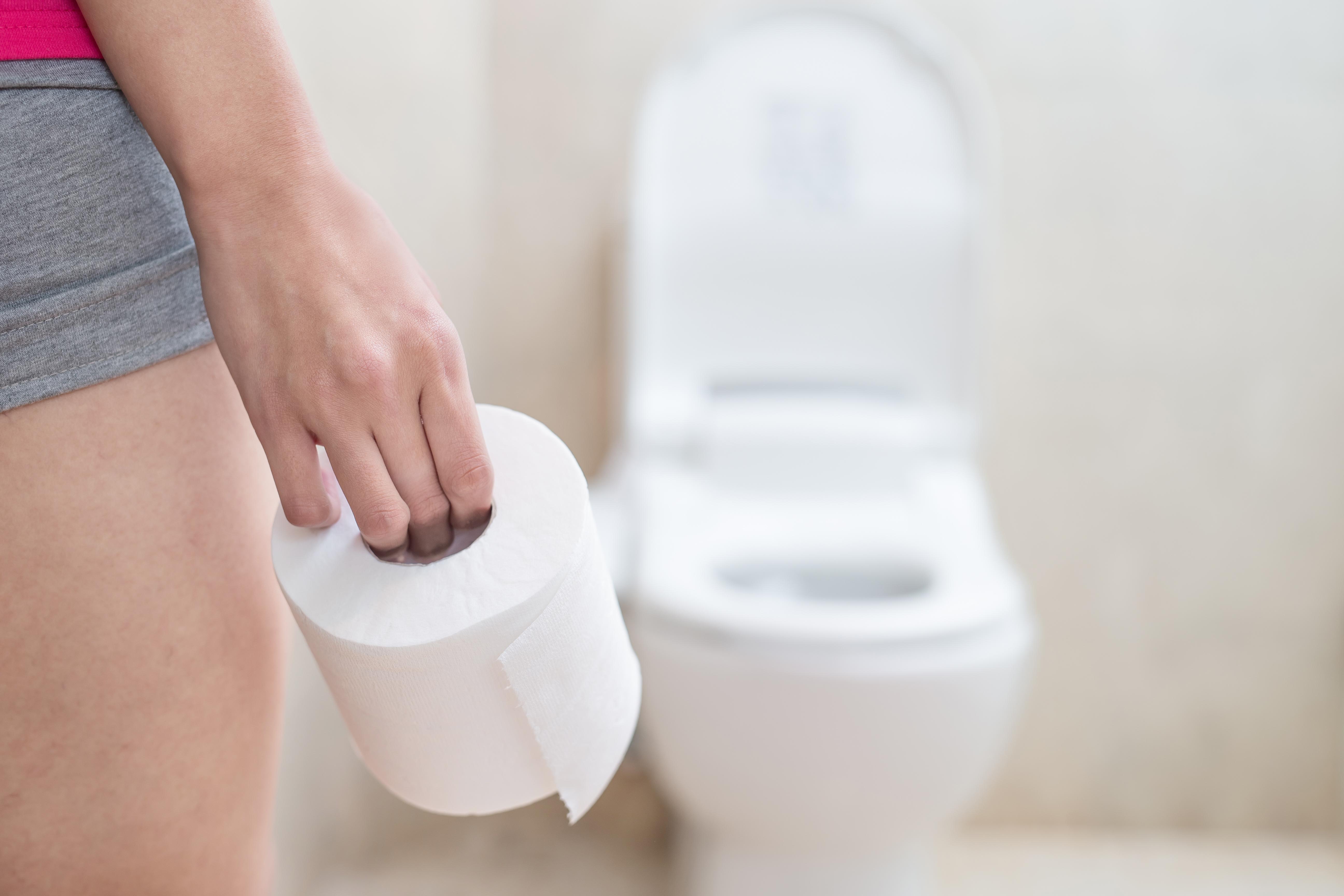 Brunt menstruationsblod Bombshell (2019)