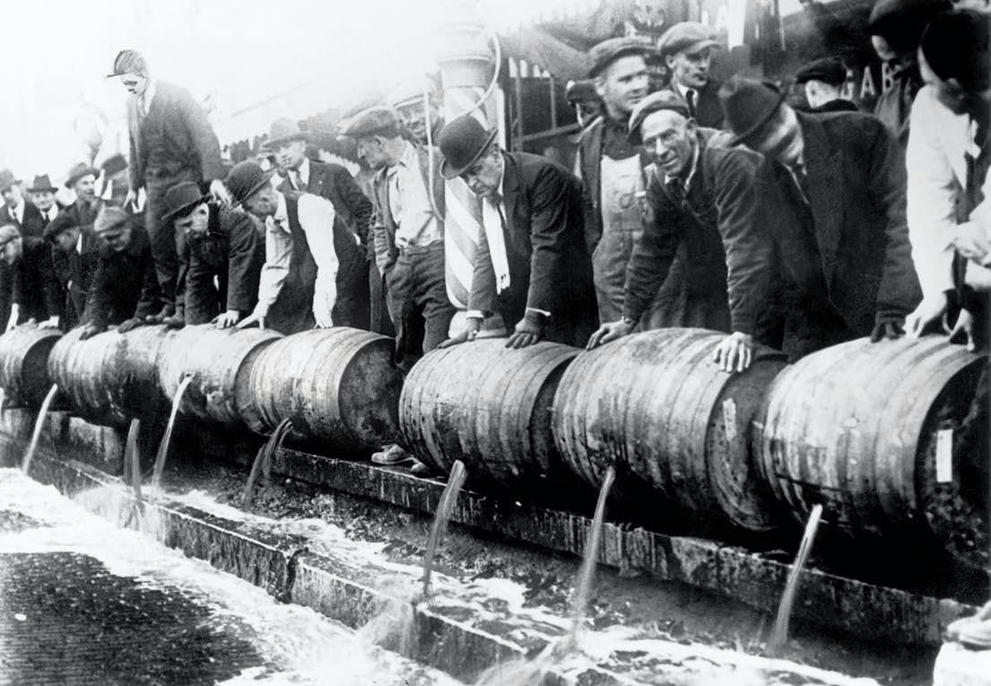 الكحول المحرمة في أمريكا