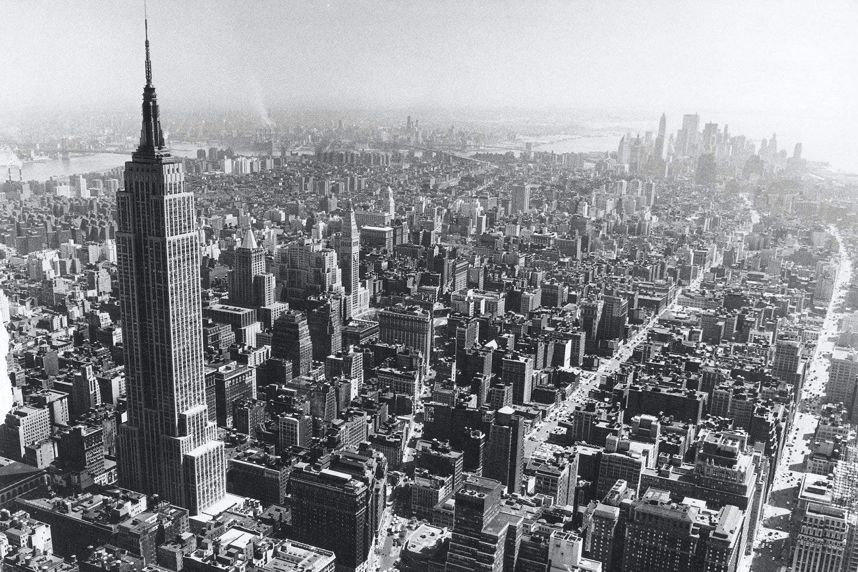 Kollapsad byggnad i new york