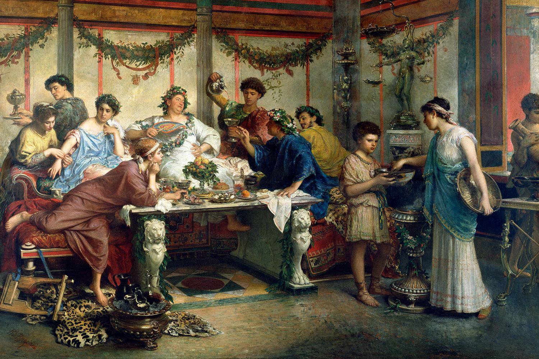 Romerska orgie bilder
