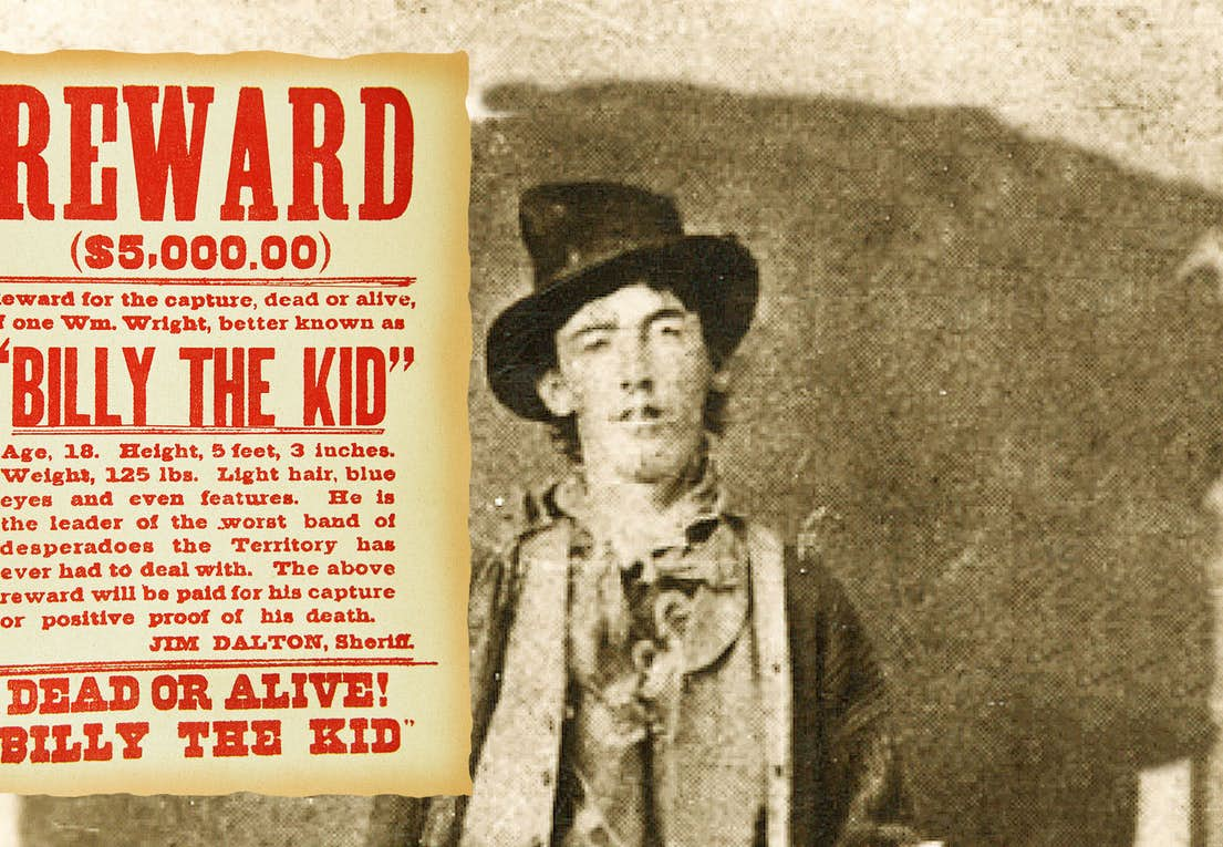 4469176b Billy the Kid: Vestens vildeste desperado | Historienet.dk