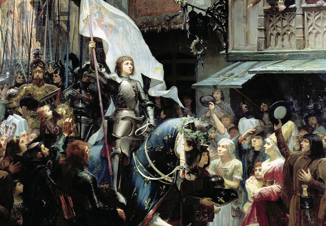"""fd01daf226a5 Hendes sejr over englænderne ved byens porte gjorde """"Jomfruen fra Orléans""""  til en frelserskikkelse. Folket turde nu håbe på sejr over fjenden."""