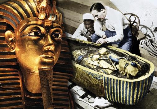 Forsta bilden av tutankhamun