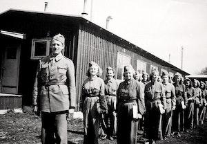 Tornsvalor lottor utbildning gotland 1942 beredskapstiden itxognqnjtyevybpvpc7xa