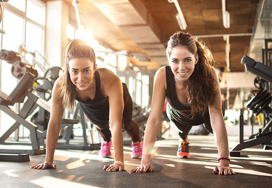 vægttab træning 3 gange om ugen