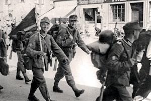 Tyska soldater marscherar in i danmark 1940 ez5sphzsus54u4xix8z8wa