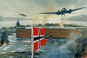 Tyskt anfall mot oscarsborg oslo 9 april 1940 weserubung bugxbrwqkiuyoigpbxcbsw