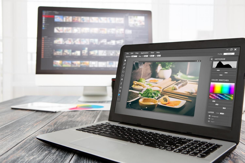 dator för bildbehandling photoshop