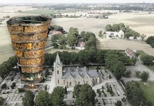 Uppakra kyrka och jarnaldersfynd a k9q1w04r79v9u9jc3itowg