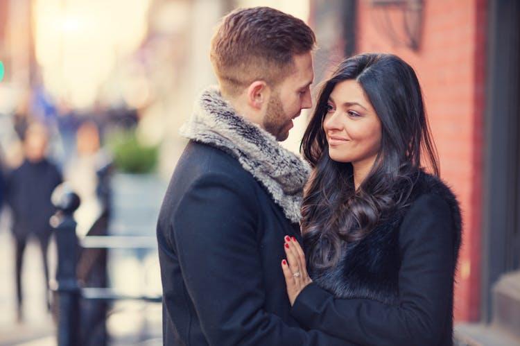 Valentins dag lige startede dating pige