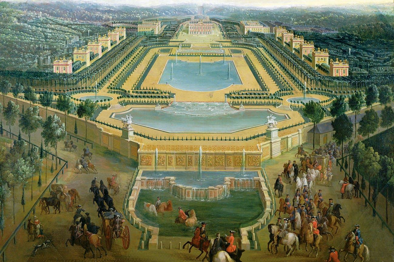 hur många arbetade på slottet i versailles?   varldenshistoria.se