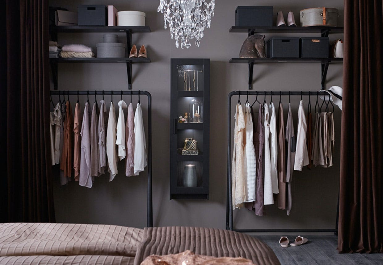 s dan laver du nemt og billigt en ben garderobe. Black Bedroom Furniture Sets. Home Design Ideas