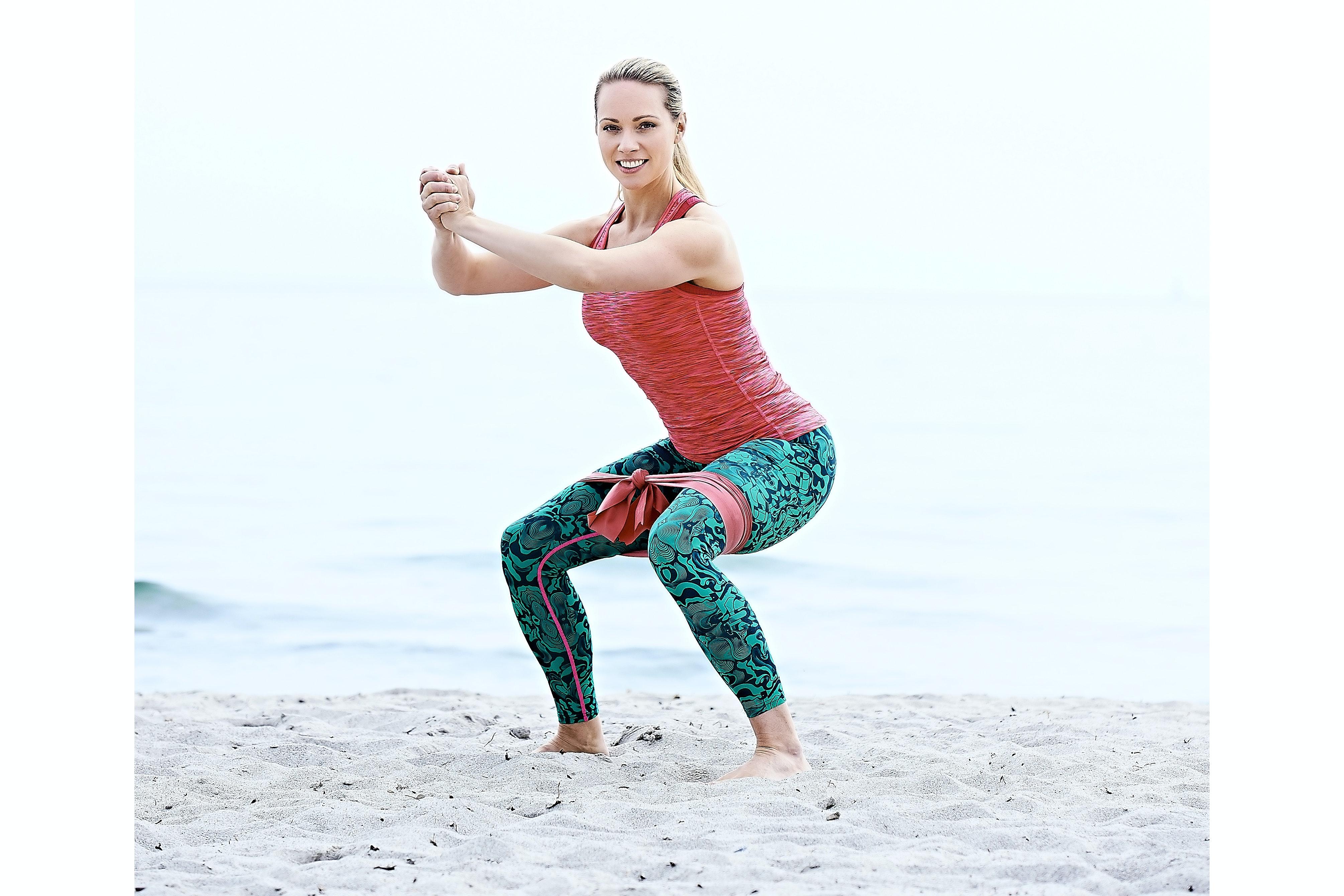 squat med elastik