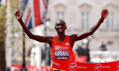 verdens hurtigste maraton tid