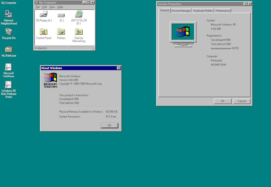 Hämta Windows 95 Som App För Windows 10 Pctidningense