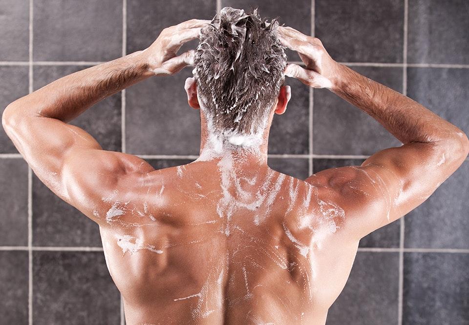 nøgne mænd i bad