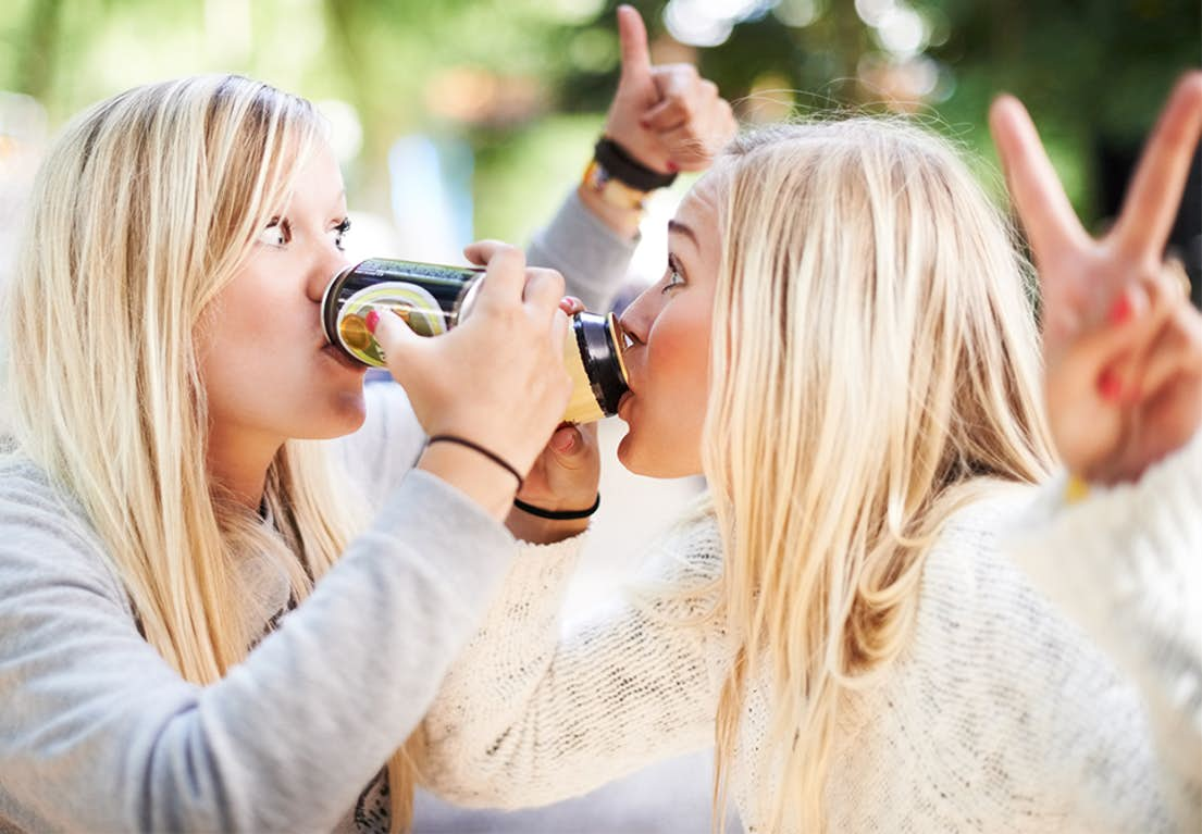 bare drikker dating