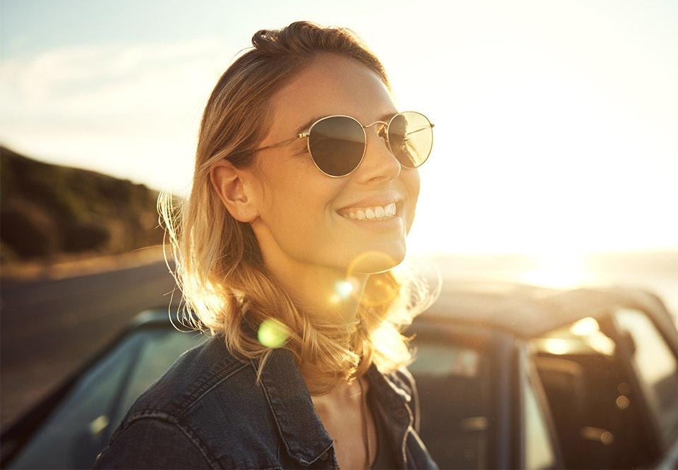 solbriller til aflangt ansigt